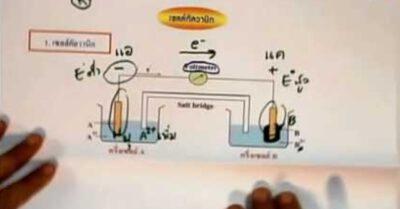 ปฏิกิริยาไฟฟ้าเคมี อ.เดือนเพ็ญ